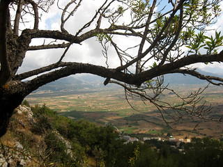 View on Lasithi plateau
