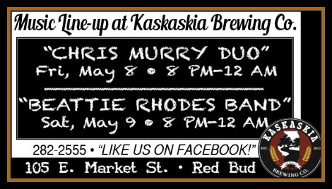 Kaskaskia Brewing Co 5-8, 5-9-15