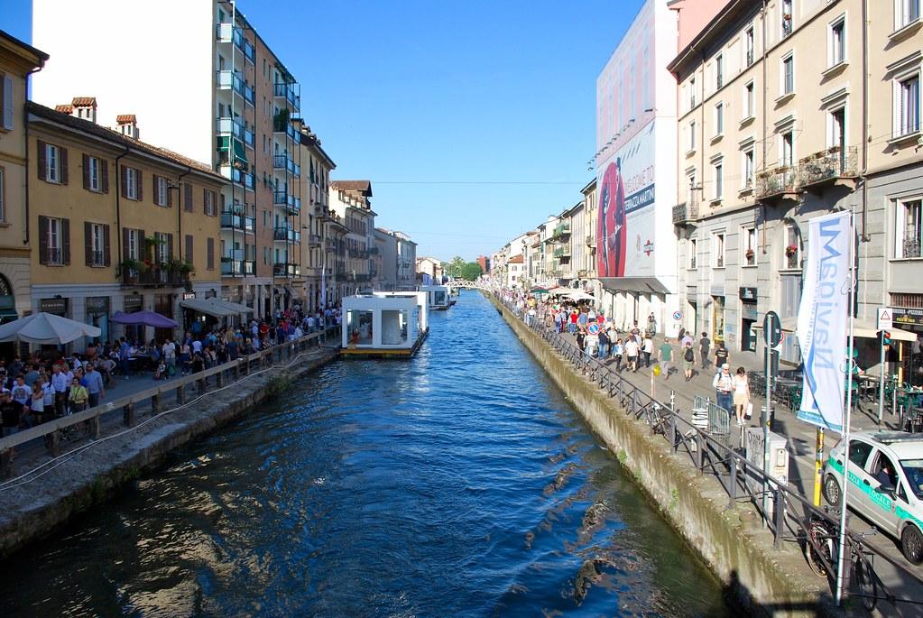 Milano, tra Darsena e Naviglio Grande