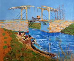 Bridge at Arles, after Van Gogh