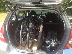 Three Bikes in the Fit
