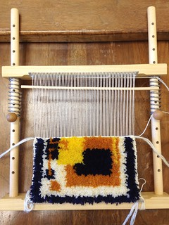 Knotted Pile Weaving