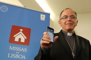 """Apresentação APP """"Missas em Lisboa"""""""