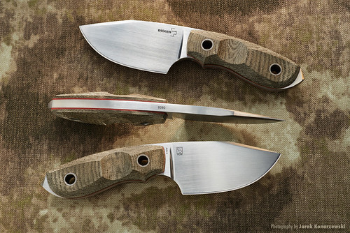 Boker Plus BOB fixed knife.