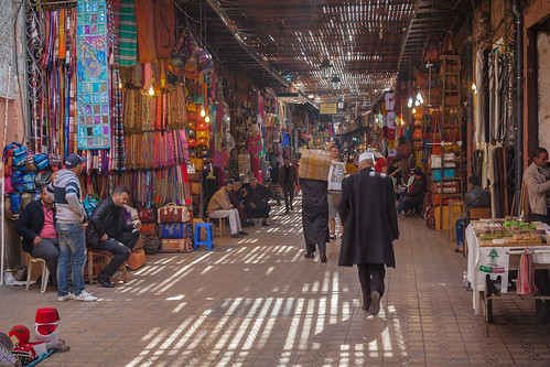 Inside The Souk Of Marrakech