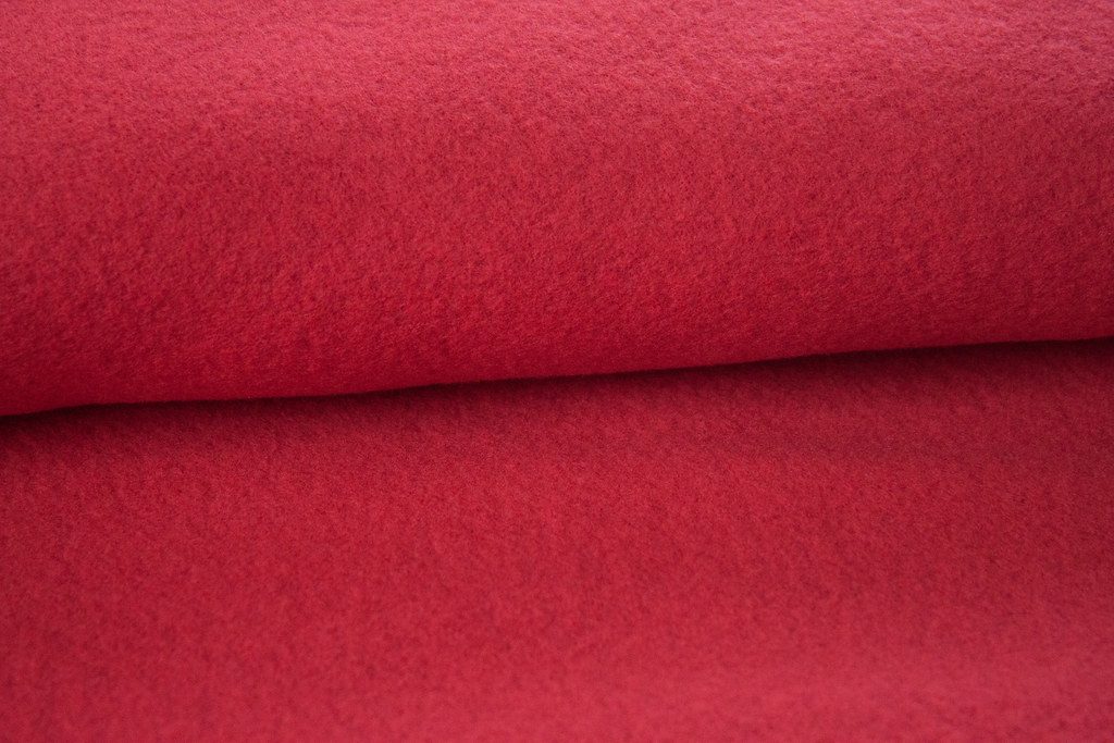 Wellness Fleece, rot