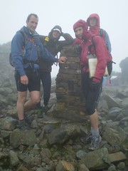 The Scafell Pike Summit Image