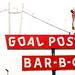 Goal Post Bar B Q by Thomas Hawk