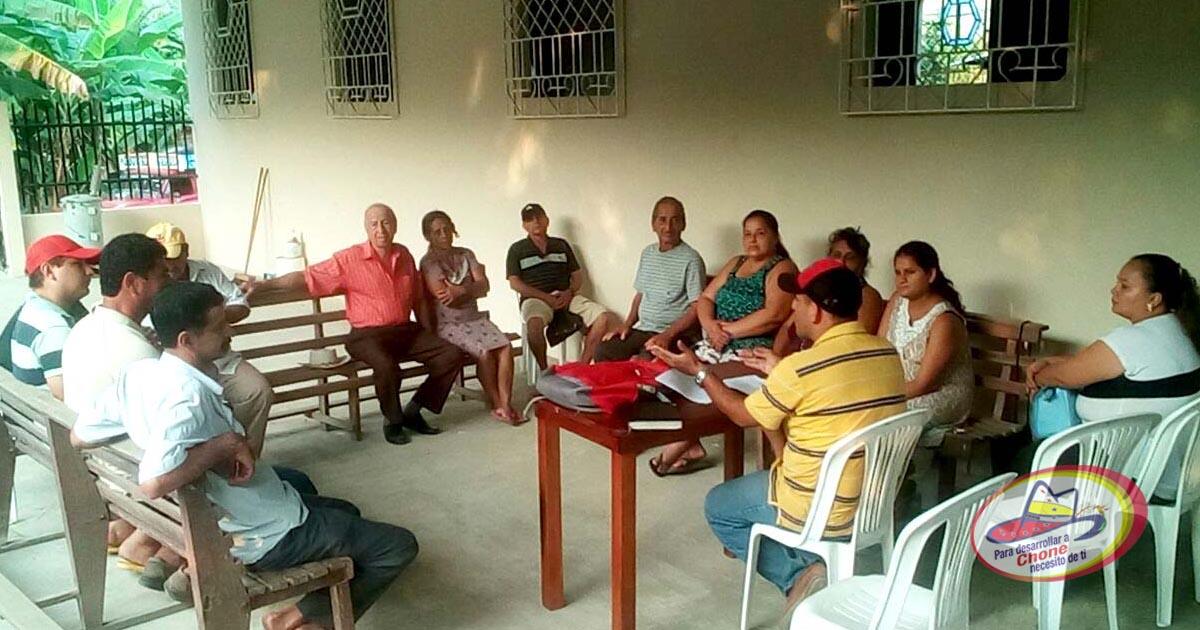 Entrega de personería jurídica en la comuna campesina La López
