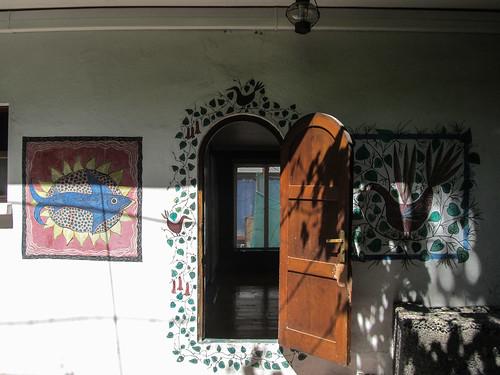 Santiago: la Chascona, maison du poète Pablo Neruda.