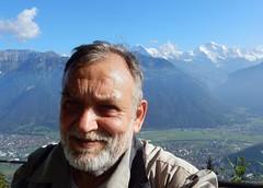 A selfie with Jungfrau