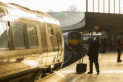 Winter sunlight at Bristol Temple Meads
