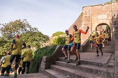 The start from Mont Orgueil Castle Image