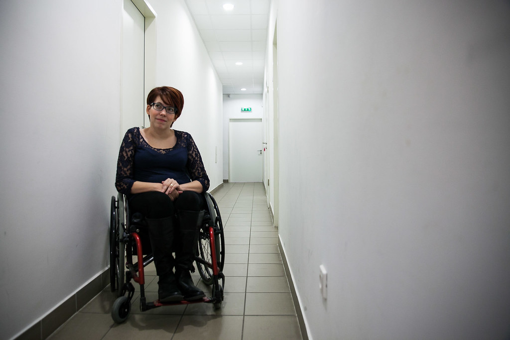 Oláh-Koppány Andrea akadálymentesítési tanácsadó