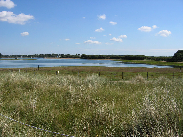 Chichester Harbour from West Wittering