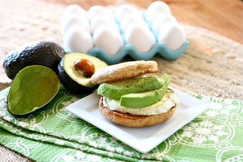 Egg and Avocado Sandwich 001