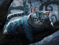 Cheshire Cat Tim Burton - Inspiration