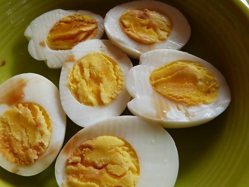 Hardboiled Eggs With Tamari