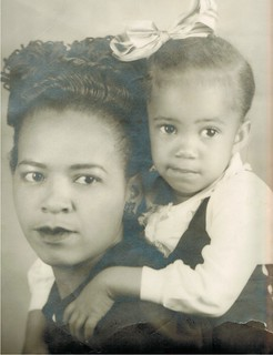 Mother and daughter - Elnora and Phyllis Anita