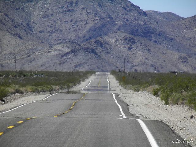 Desert Road Heat-Haze