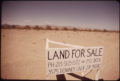 Desert real estate, May 1972