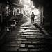 Hong Kong Stairs by Eddy Kratzenstein
