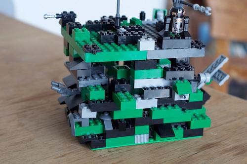 Borg Cube aus Lego
