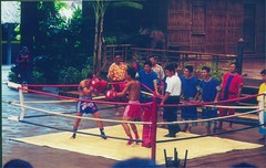 Muai Thai boxing with a lot of comedy thrown in!