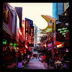 Last evening drinks at soi cowboy