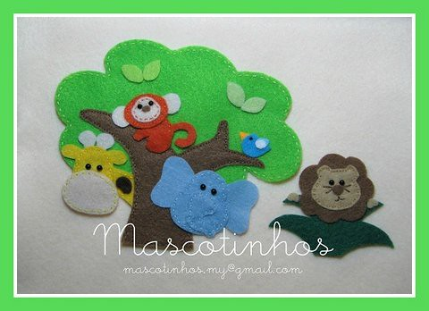 Mascotinhos 2 by Mascotinhos em Feltro
