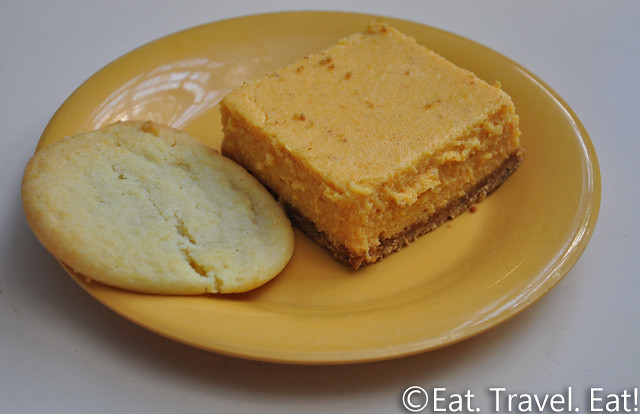 UC Irvine Pippin Commons- Irvine, CA: Sugar Cookie and Pumpkin Cheesecake