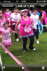 , Sunday- Mummy and Rebecca Race for Life!