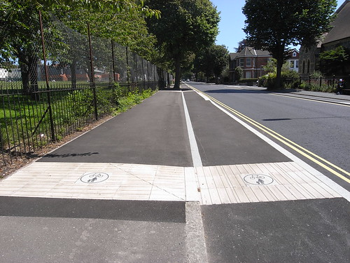 Old Shoreham Road cycle lane
