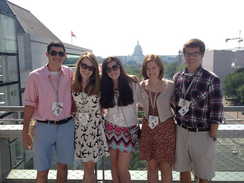 NSLC COMM Students Visit the Newseum