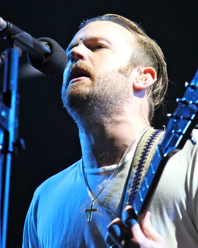 Caleb Followill closeup