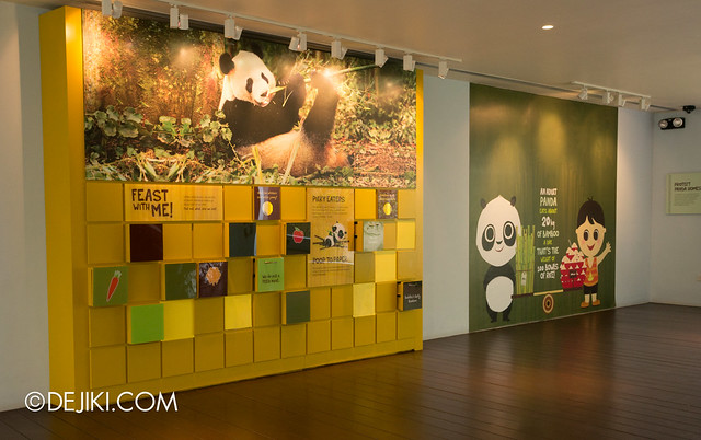 River Safari - Giant Panda Forest info zone