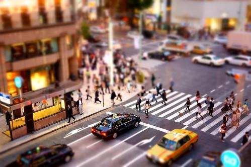 Ginza street diorama