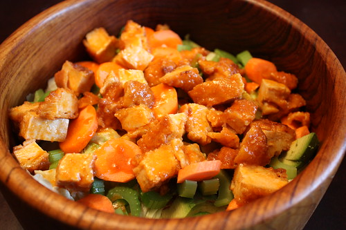 Salads for Men: Buffalo Chicken Salad