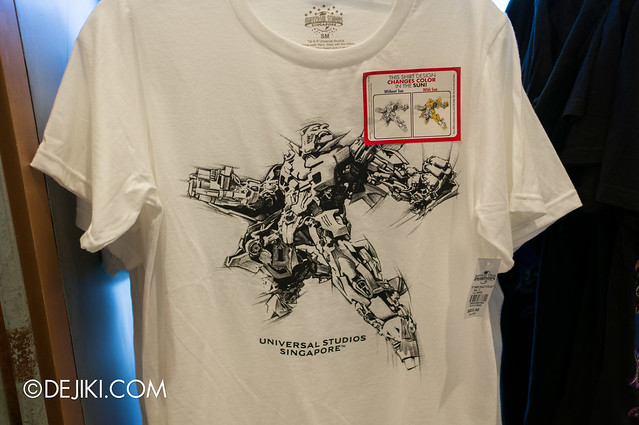 USS May Park Update - Transformers Bumblebee UV activated T-shirt