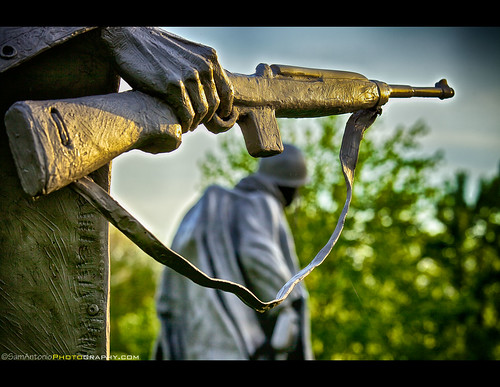 Korean War Veterans Memorial - Washington, DC by Sam Antonio Photography
