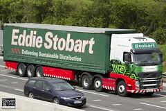 Volvo FH 6x2 Tractor - PX10 DKL - Mavis Cynthia - Eddie Stobart - M1 J10 Luton - Steven Gray - IMG_8883