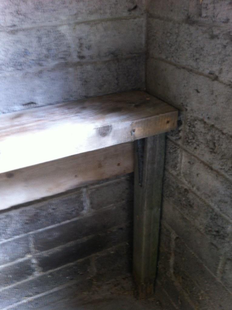 Bench step 2