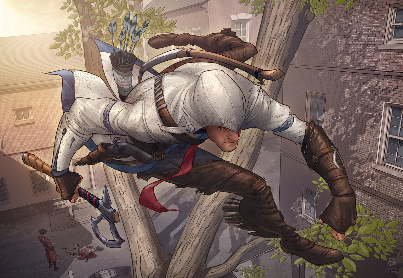 'Assassin's Creed 3' - Patrick Brown