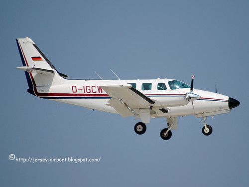 D-IGCW Cessna T.303 Crusader by Jersey Airport Photography