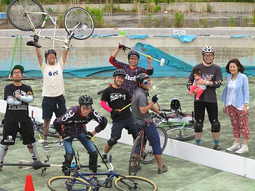 130601 大高緑地バイクポロ練習会の試み