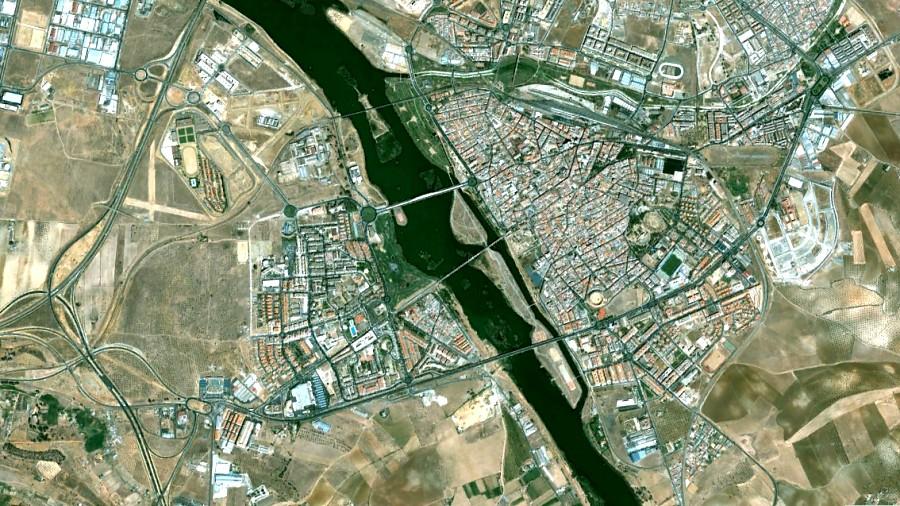 Mérida, Badajoz, Emerita Augusta, antes, urbanismo, planeamiento, urbano, desastre, urbanístico, construcción