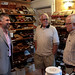 Alejandro chats with clients in the humidor. by VictoryCigars1
