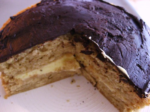 Boston Cream Pie // My first BCP attempt by VeganBananas