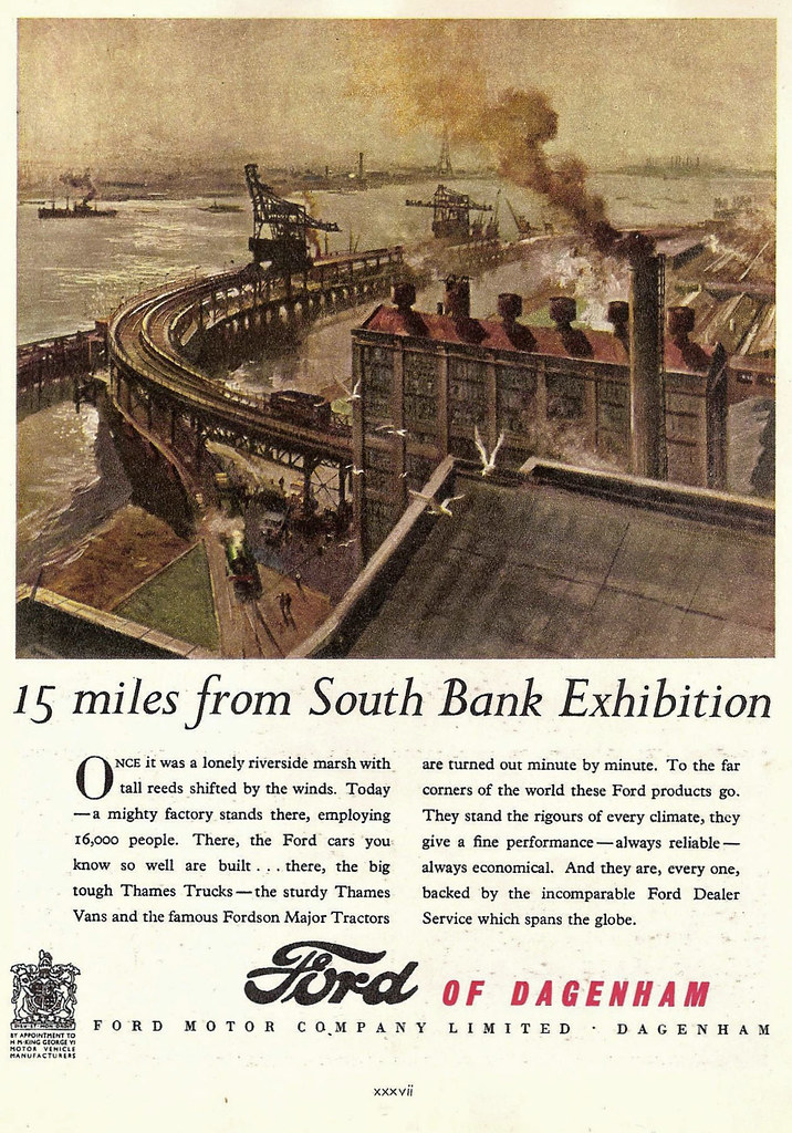 Festival of Britain Advertisement