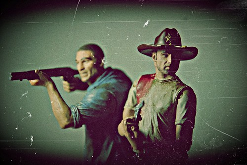 Rick Grimes & Shane Walsh_antique photo